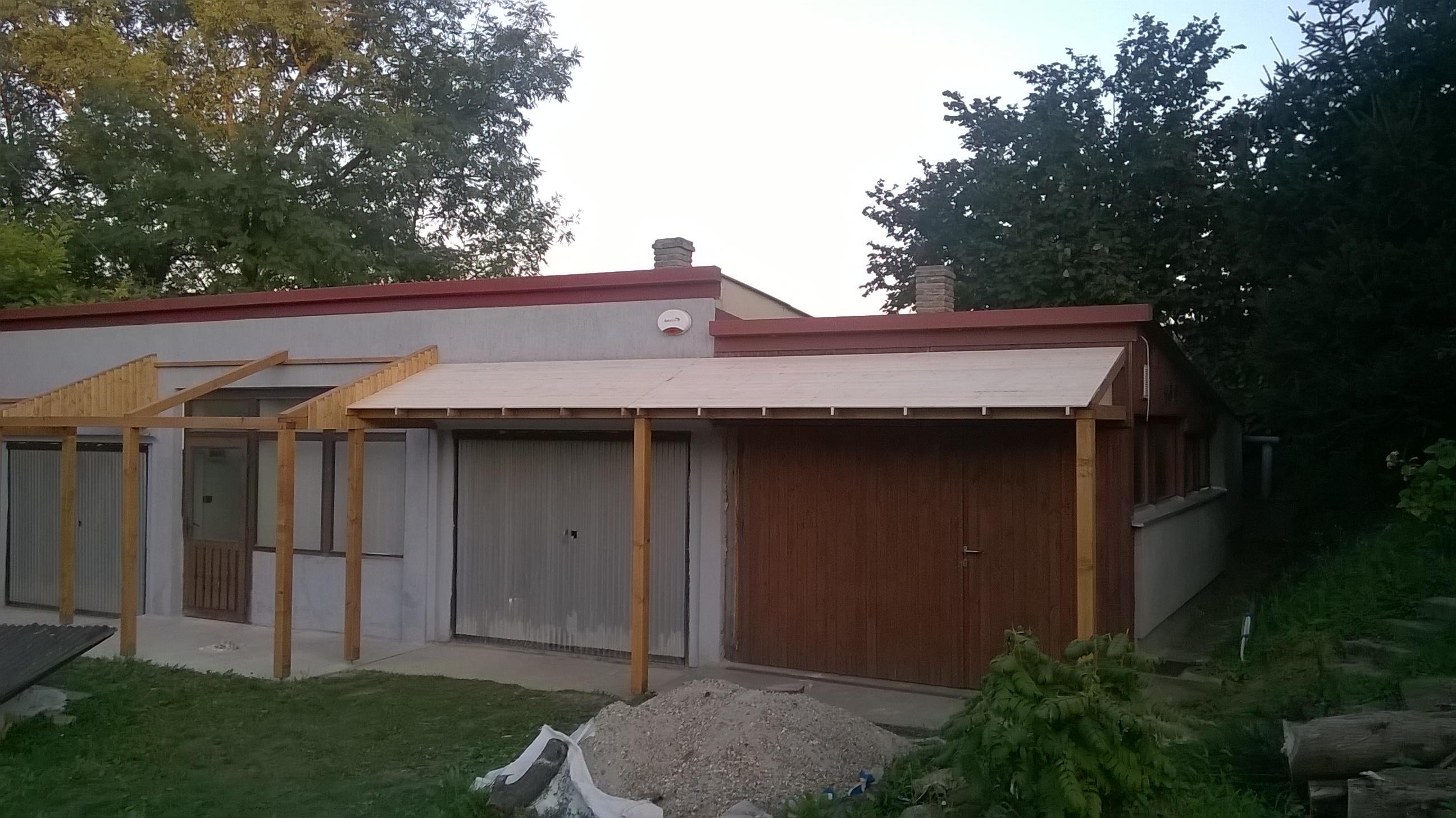 Műhely külső felújítás